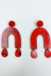 Chrissy Earring - Red
