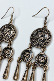 Right On Coin Earring - FINAL SALE