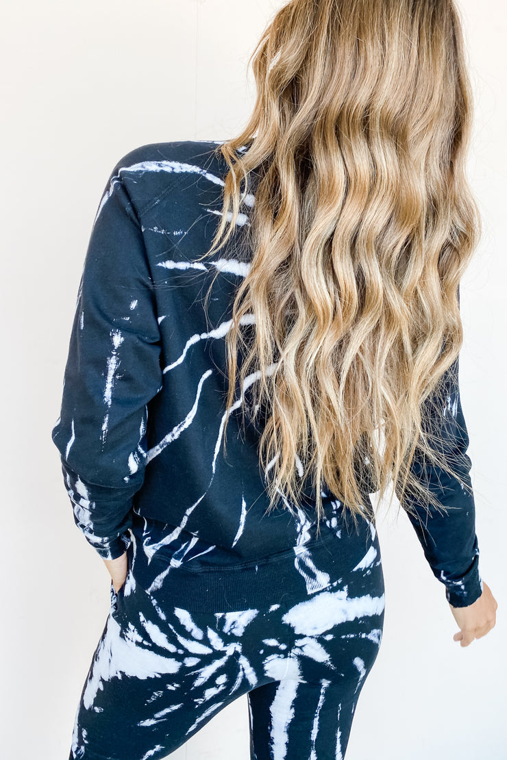 Long Weekend Tie Dye Sweatshirt