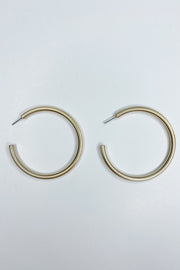 My Heart Hoop Earrings