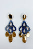 Lucille Earring - Midnight Gold