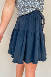 Fine By Me Ruffle Skirt - FINAL SALE