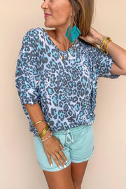 Dreamy Afternoon Leopard Tunic
