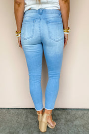 High Rise Seamless Ankle Jean | Democracy
