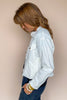 Sing The Blues White Denim Jacket