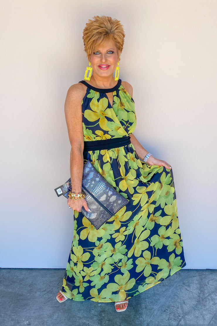 Blooming Into Beauty Floral Dress | Joseph Ribkoff