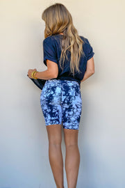 Ride Around Tie Dye Biker Shorts