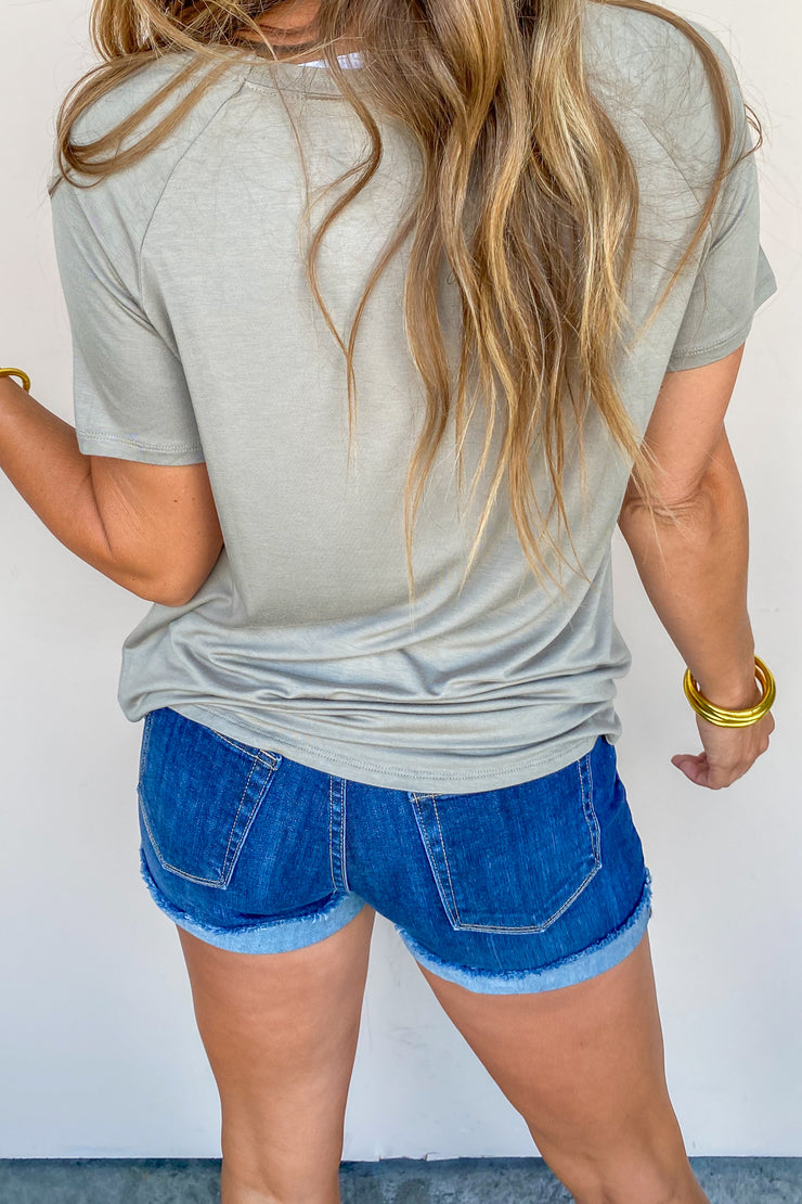 Goal Getter Boy Cuff Shorts - FINAL SALE