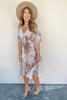 Better Things Ahead Tie Dye Dress