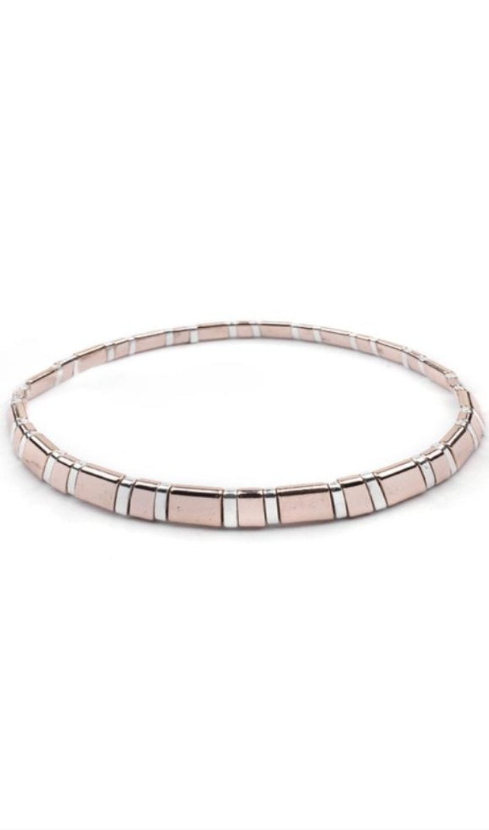 Picasso Mixed Rose Gold Erimish Bracelet