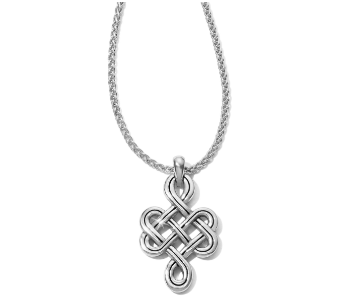 Interlok Endless Knot Petite Necklace - FINAL SALE