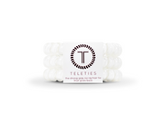 Large Teleties - Coconut White 3 pack