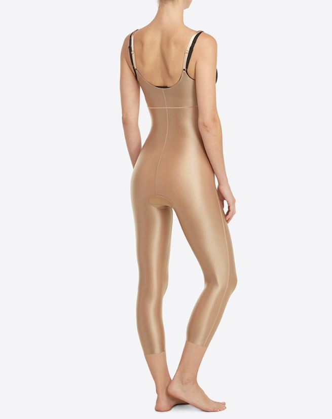 Open Bust Catsuit - Full Length Bodysuit Shapewear