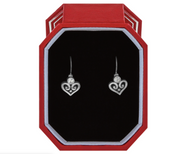 Alcazar Heart Leverback Earring Box Set