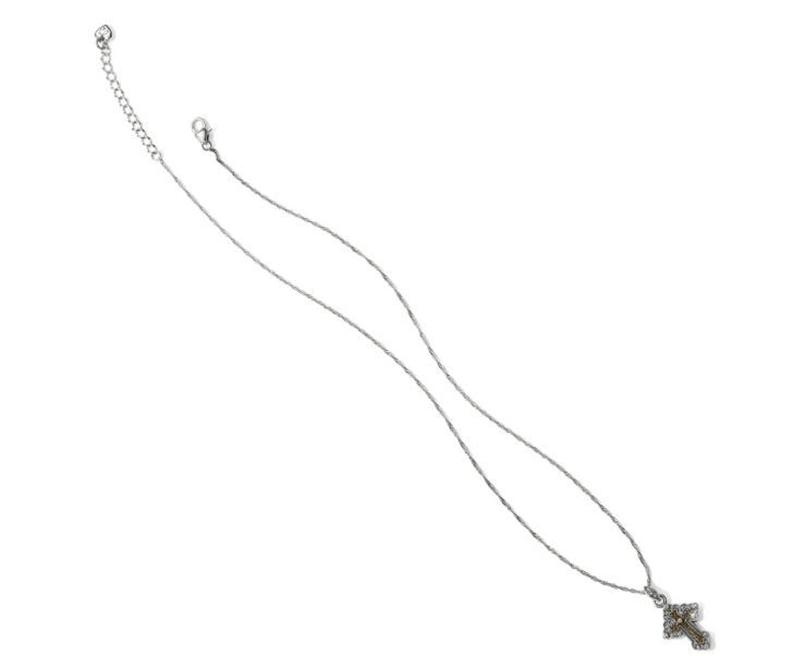 Crosses of the World Greek Petite Cross Necklace