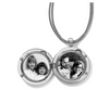 Toledo Alto Noir Convertible Locket Necklace