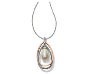 Neptune's Rings Pearl Pendant Necklace
