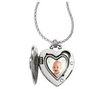 Illumina Single Heart Locket Necklace