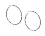 Pebble Large Oval Hoop Earring - FINAL SALE