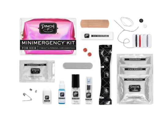 Pink Hologram Minimergency Kit