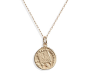 French Mini Coin Necklace