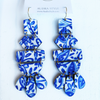 Belle Earring - Blue/White