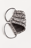 Grey Leopard Reusable Face Mask - 2 Pack