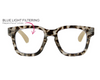 Coffee Shop Focus Bluelight Glasses - Grey Tortoise