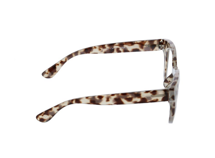 Center Stage Focus Bluelight Glasses - Grey Tortoise - FINAL SALE