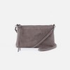 Darcy Small Leather Crossbody - Metallic Titanium Brown
