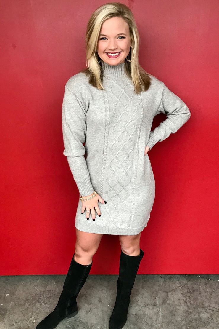 I'm Spechless Sweater Dress