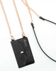 Crossbody Phone Pocket - Black