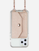 Crossbody Phone Pocket - Rose Gold
