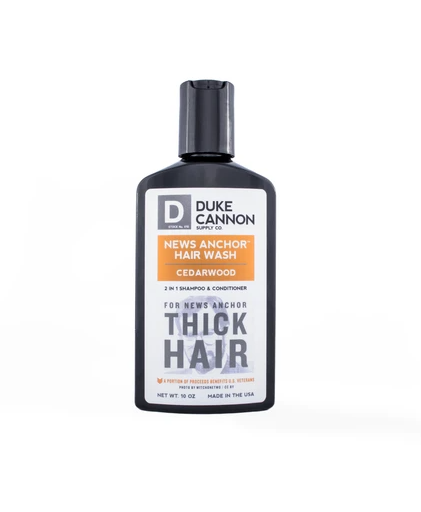 News Anchor 2-in-1 Hair Wash | Duke Cannon