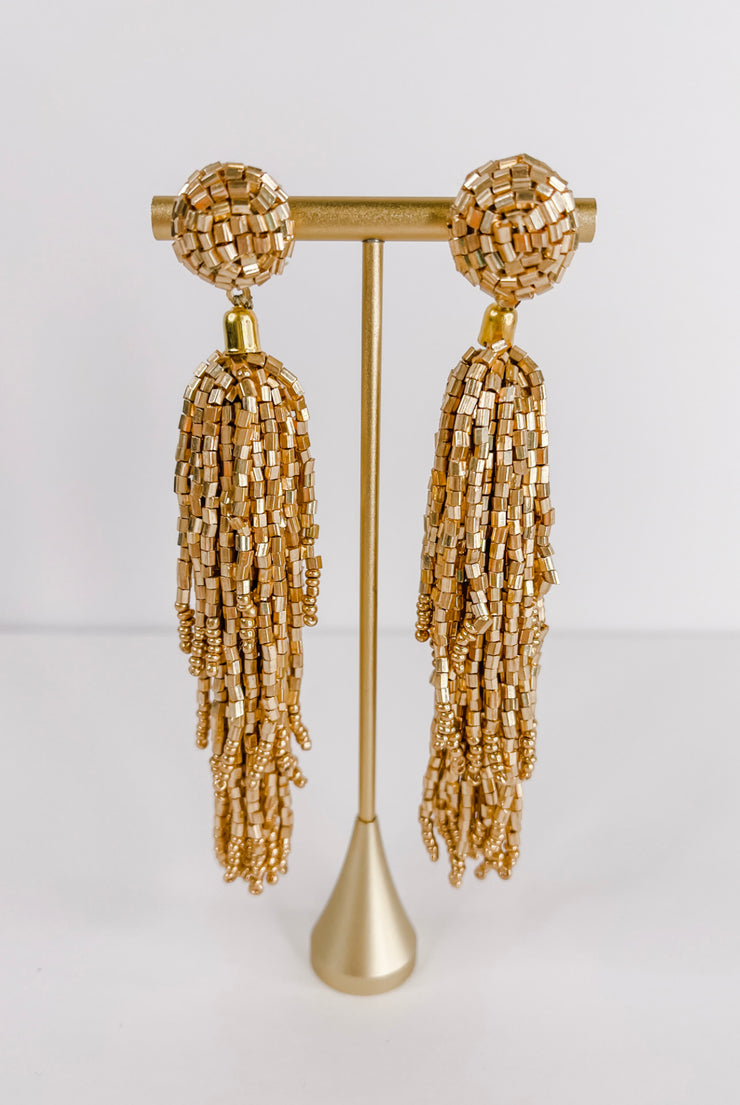 Celebration Tassel Earrings - FINAL SALE