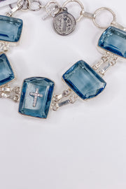 Blue Quartz Bracelet | RockStar In Rome