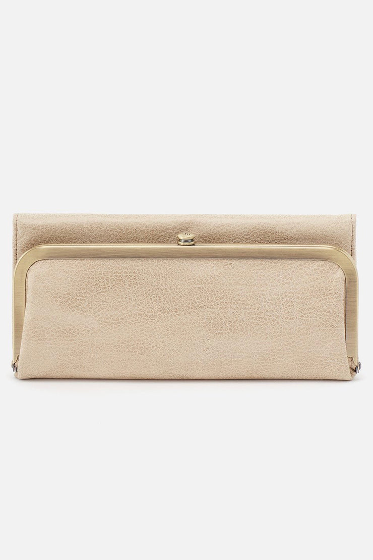 Rachel Wallet - Buffed Gold | HOBO
