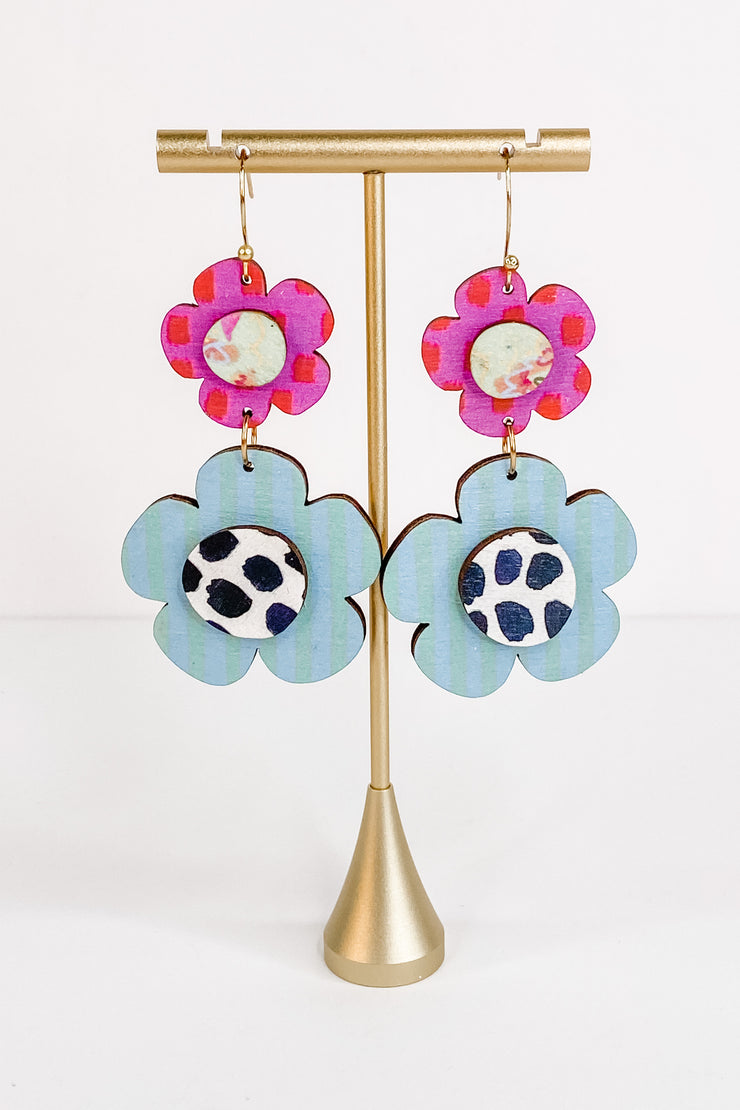 Flora Dotted Earrings