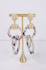 Fabulous Fabric Earrings