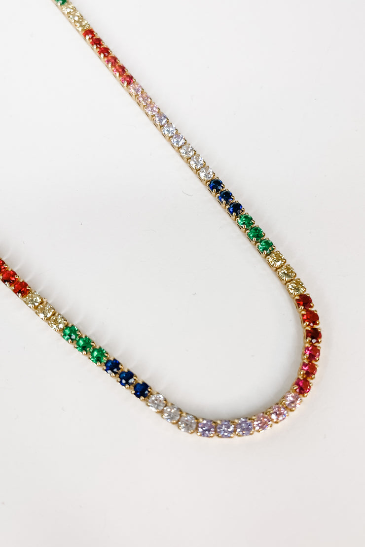 Jada Multicolor Necklace | Kristalize