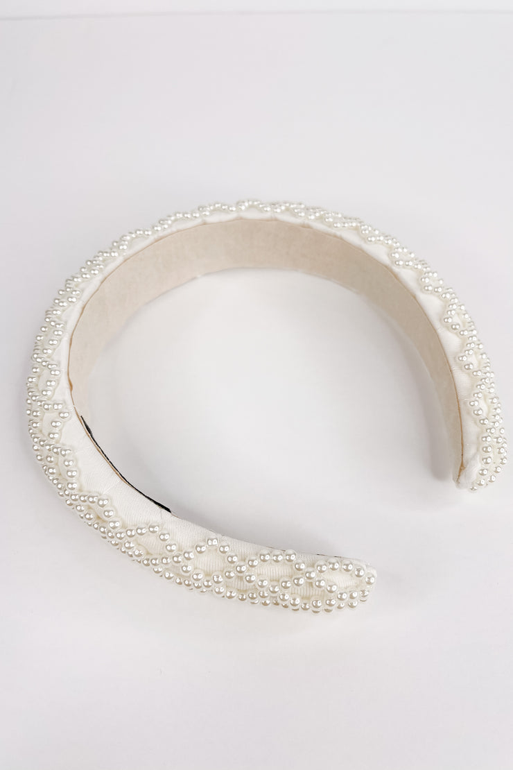 Be My Friend Pearl Headband