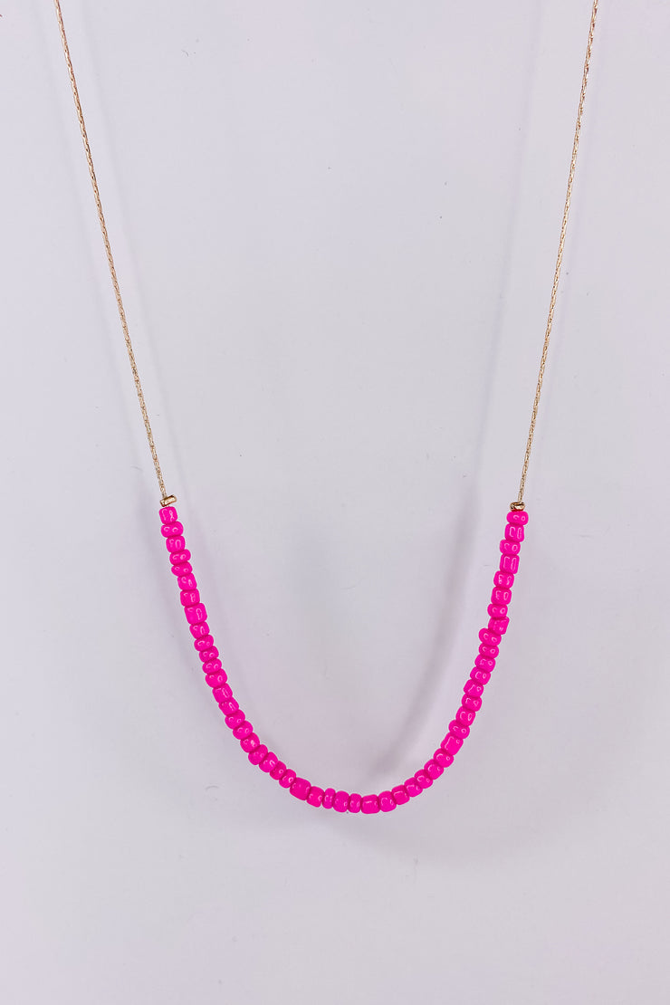 Hot In Here Pink Choker
