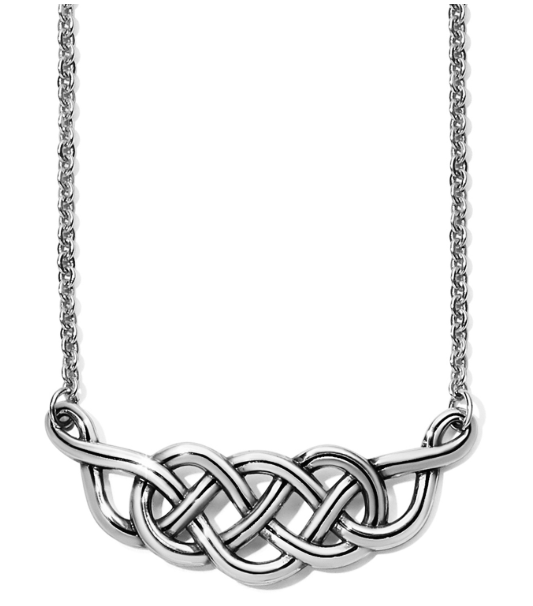 Interlok Braid Collar Necklace
