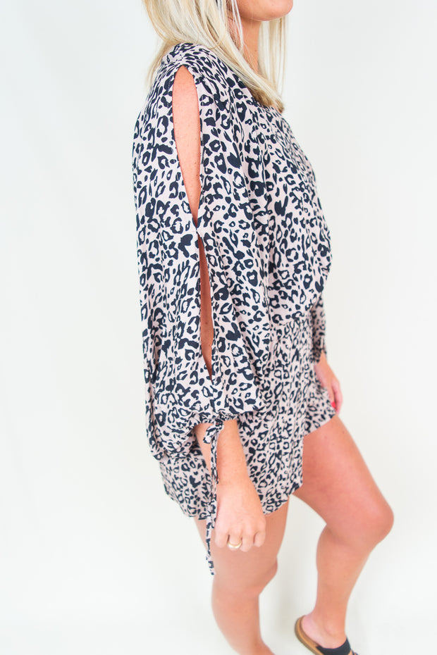 Isabella Animal Romper - The Willow Tree Boutique