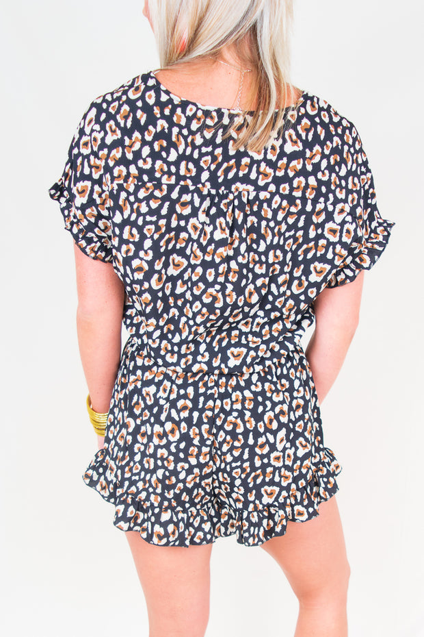 Sophia Animal Romper - The Willow Tree Boutique