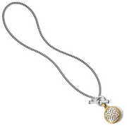Ferrara Two Tone Locket Necklace
