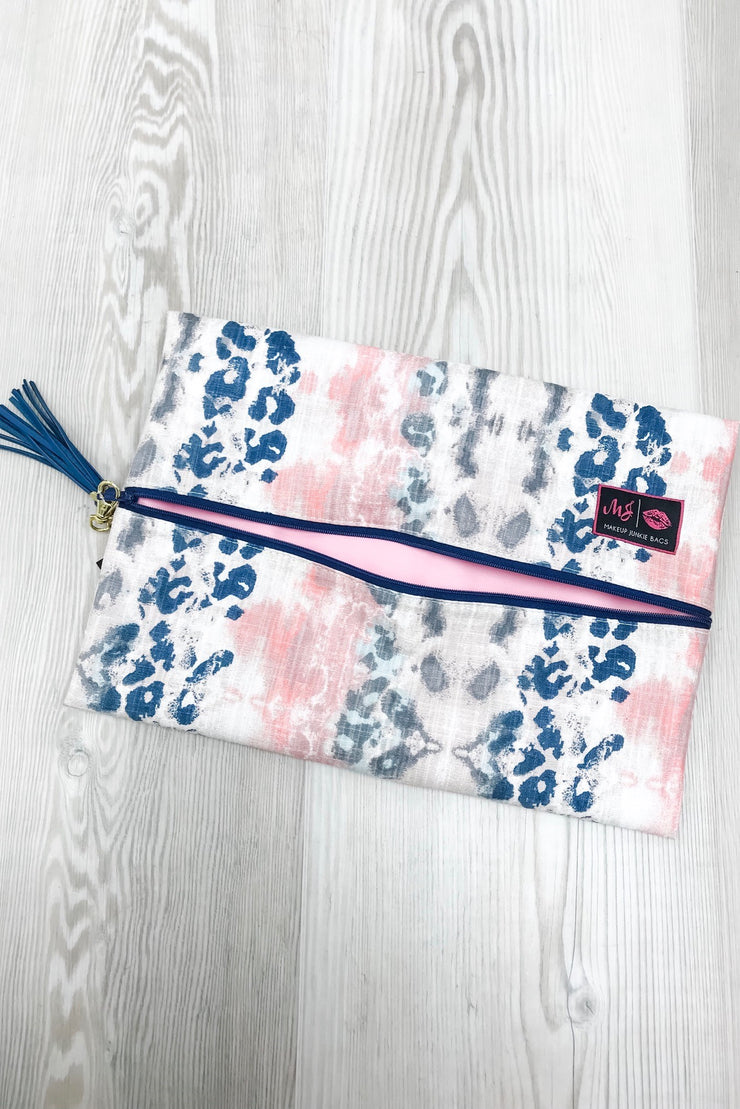Makeup Junkie Bag - Indian Paintbrush Large