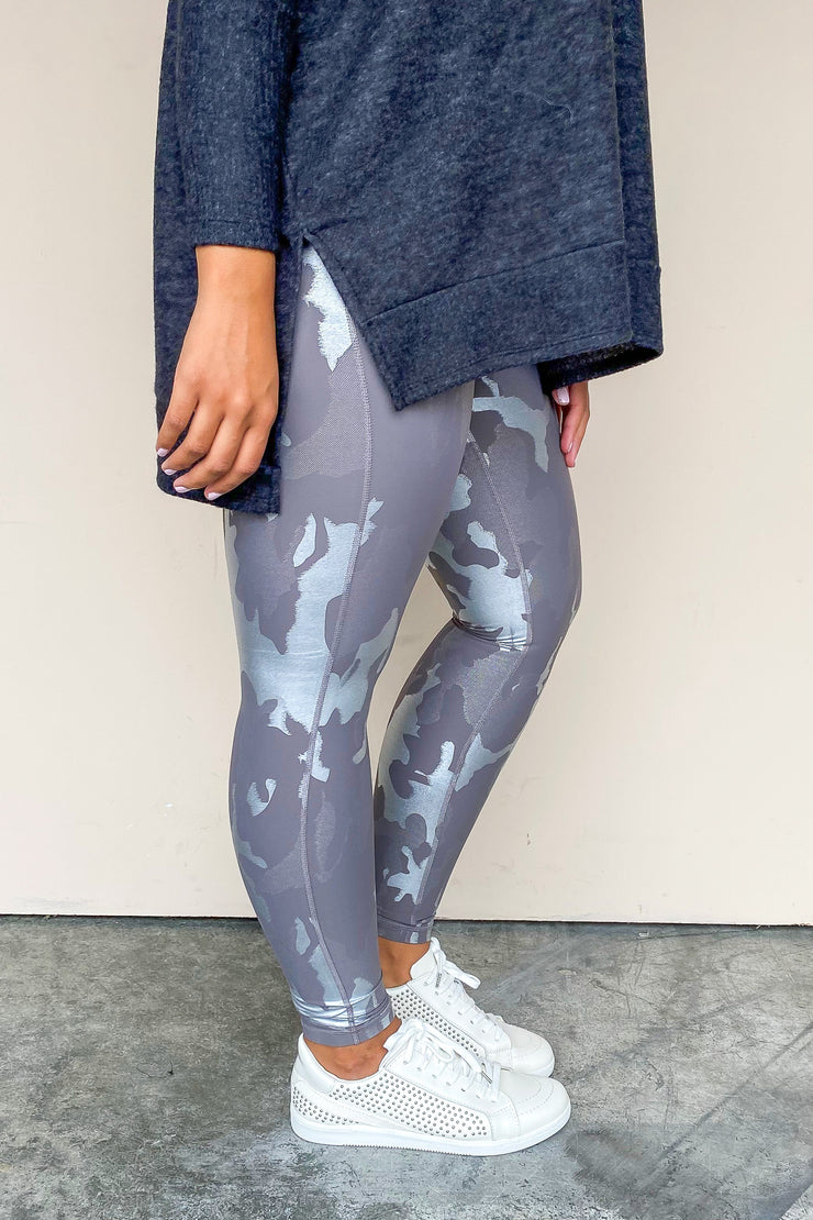 See You In Camo High Waist Leggings - FINAL SALE