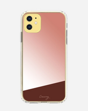 Rose Gold Mirror iPhone XR Case