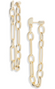 Ryder Linear Earrings - Gold